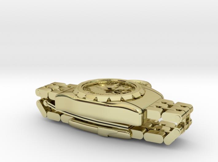 Wristwatch pendant top 3d printed