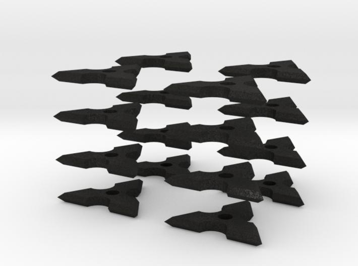 1:6 scale Ninja 3 Point Star 3d printed