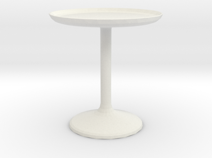 20 Dia Side Table 1:12 scale 3d printed