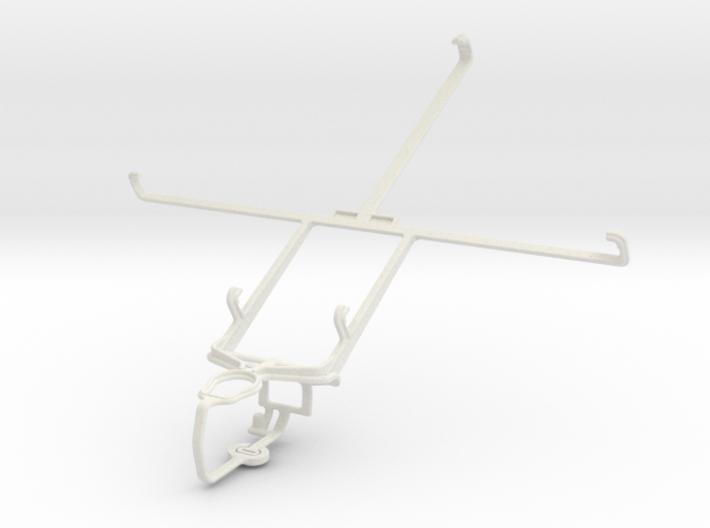 Controller mount for PS3 & Prestigio MultiPad 2 Ul 3d printed