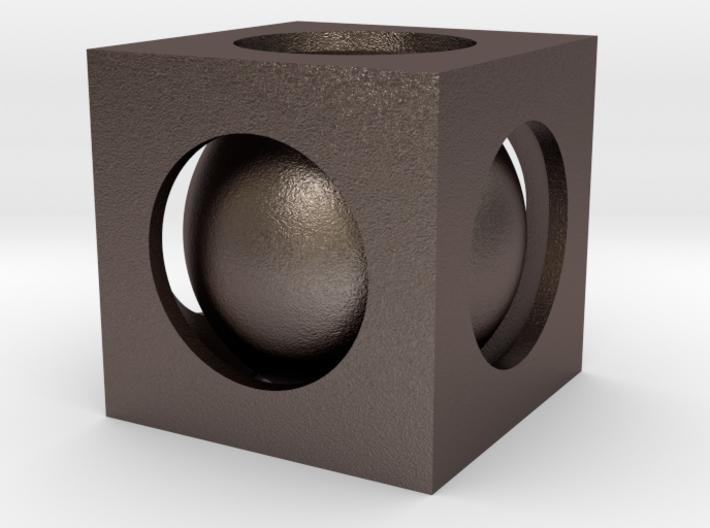 Captive Ball 3d printed