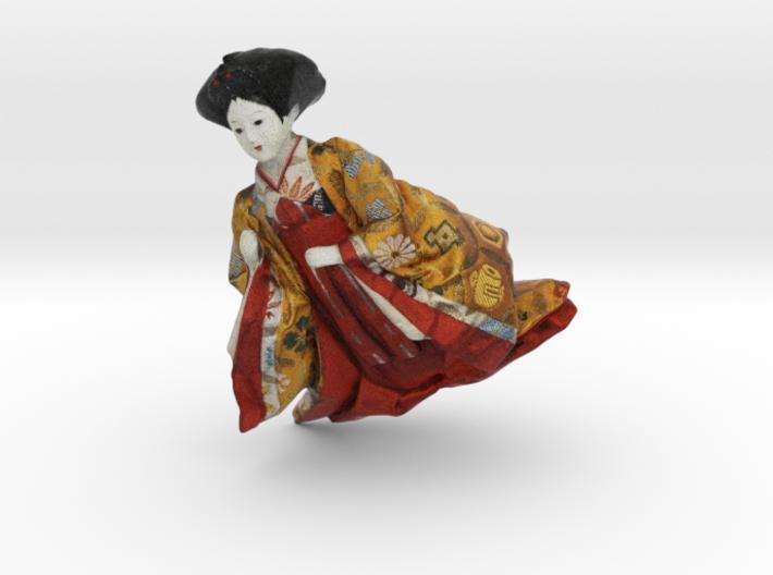 The Japanese Hina Doll-8 3d printed