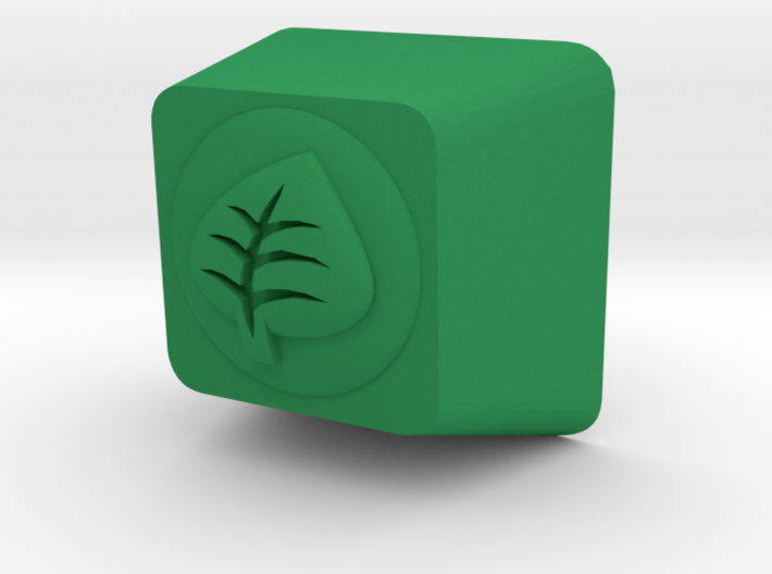 Pokemon Grass Type Cherry MX Keycap 3d printed