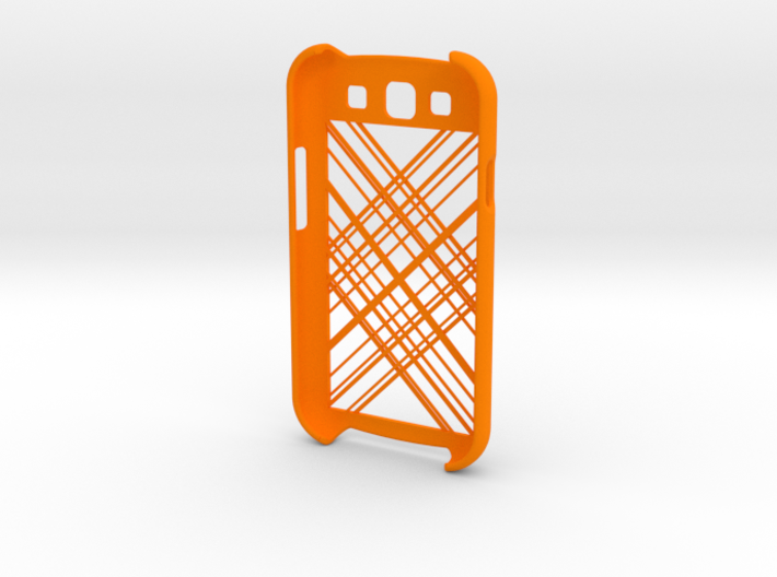 Samsung Galaxy S3 Abstract Lines 3d printed