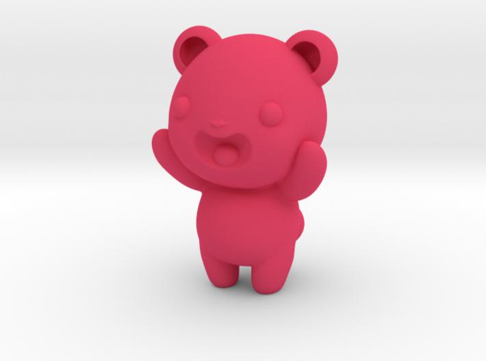 """3"""" Gummy bear 3d printed"""