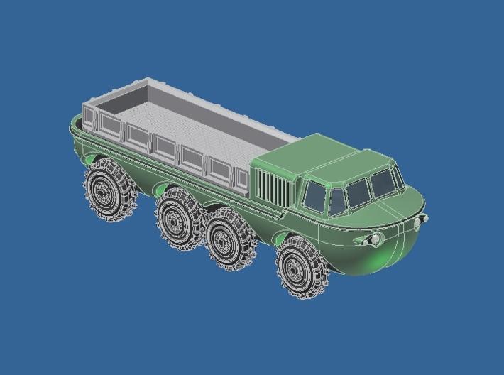 Zil 135 B ЗИЛ-135Б Schwimm LKW 3d printed Add a caption...