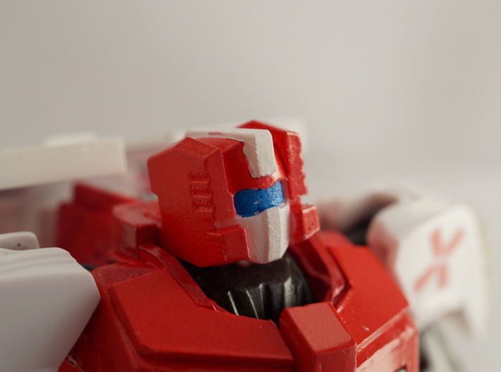 Medic Head for Prime Ratchet 3d printed