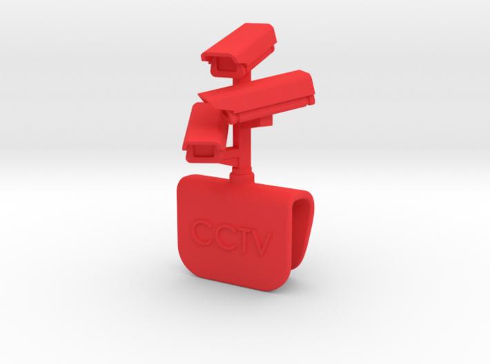 CCTV Surveillance clip - Macbook Pro 3d printed