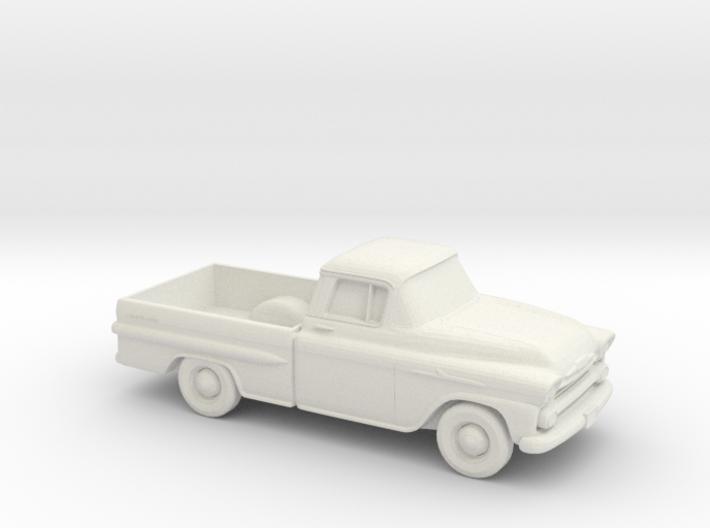 1/87 1958 Chevrolet Apache 3d printed
