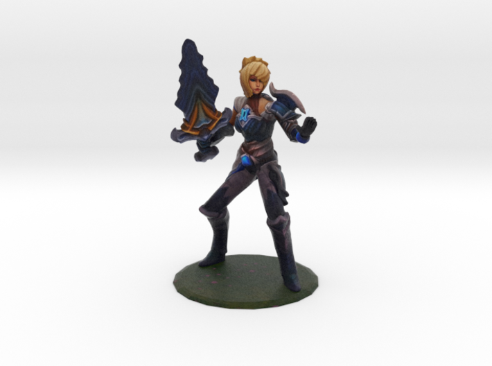 Championship Riven (old) 3d printed