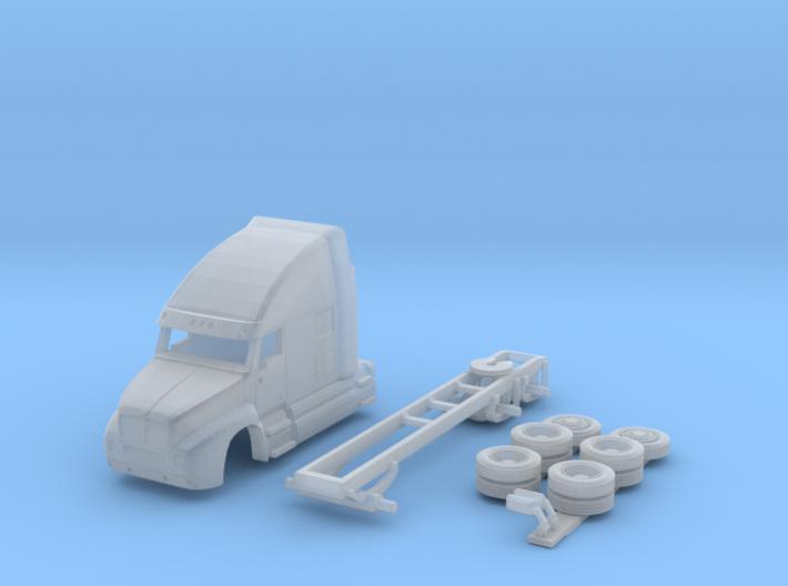 1:160 N Scale Kenworth T2000 Semi Tractor 3d printed