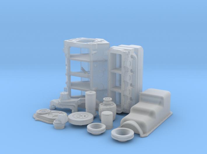 1/24 BBC Basic Block For Mech Fuel Pump 3d printed