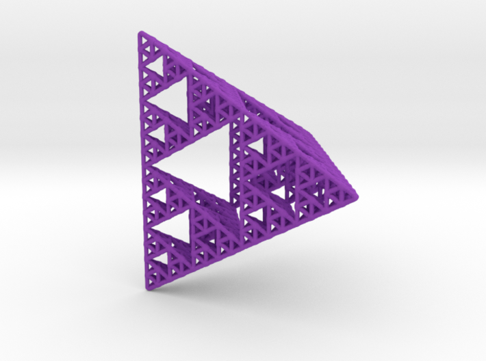 Sierpinski Pyramid; 4th Iteration 3d printed