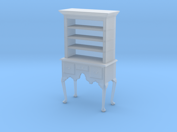 1:48 Queen Anne Highboy with Shelves 3d printed