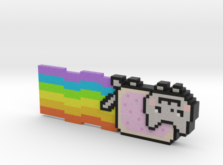 Nyan Cat (Large) 3d printed