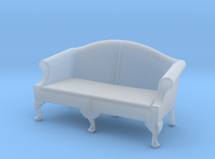1:48 Queen Anne Sofa (Medium) 3d printed