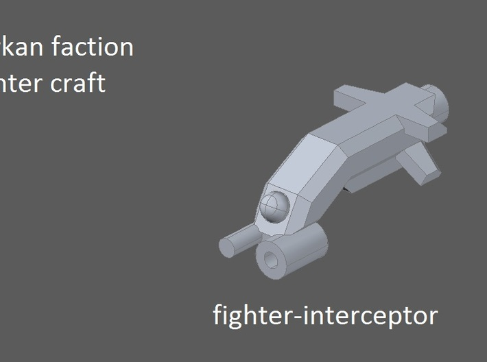 10 Tark Fighters 3d printed faction preview