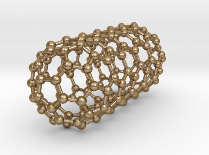 0044 Carbon Nanotube Capped (5,5) 3d printed
