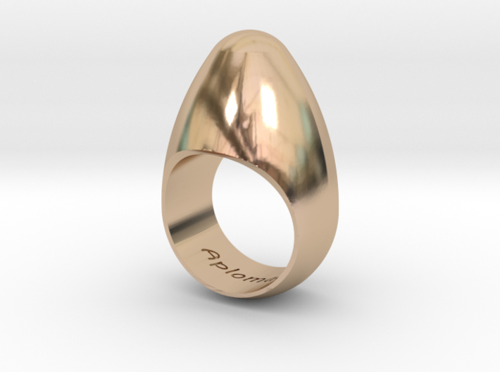 Egg Ring Size 10 3d printed