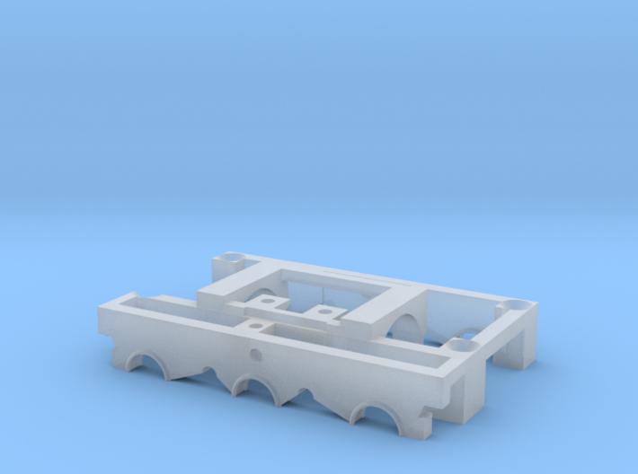 Doppelachsgetriebe mit Halterung 3d printed