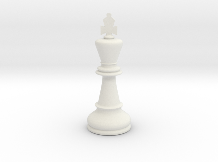 King (Chess) 3d printed