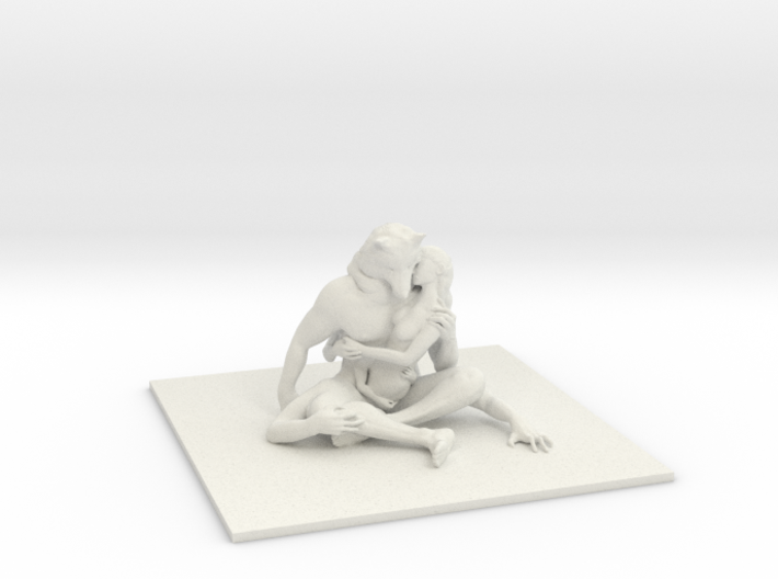 Deity of Lonely Love 3d printed