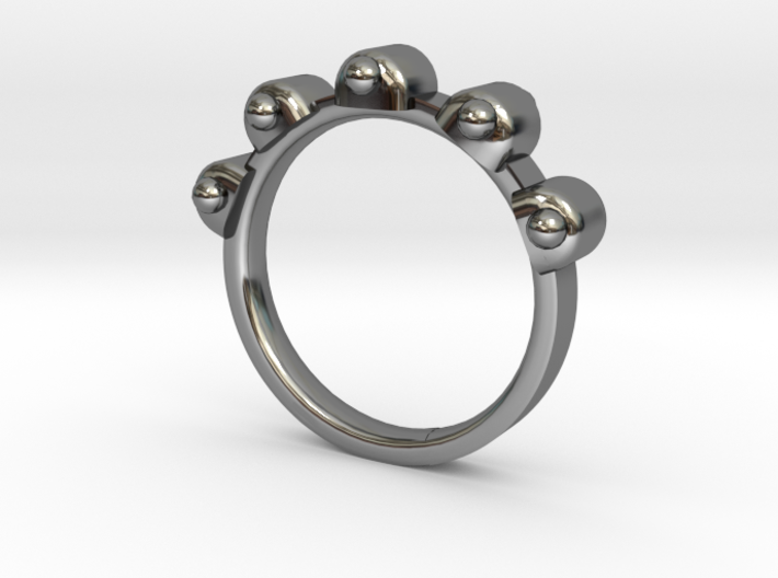 Jester Ring - Sz. 6 3d printed
