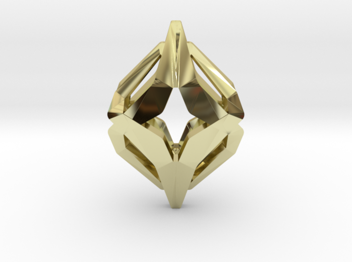 HEART TO HEART Oracle, Pendant 3d printed