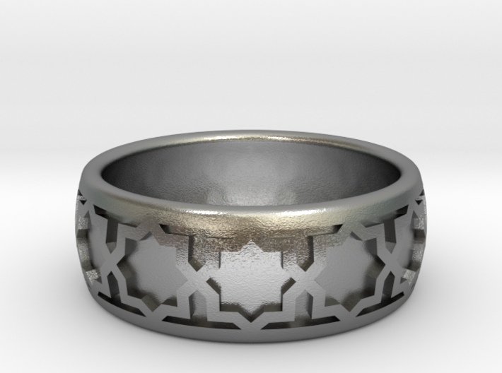 Ring Of Eights 3d printed
