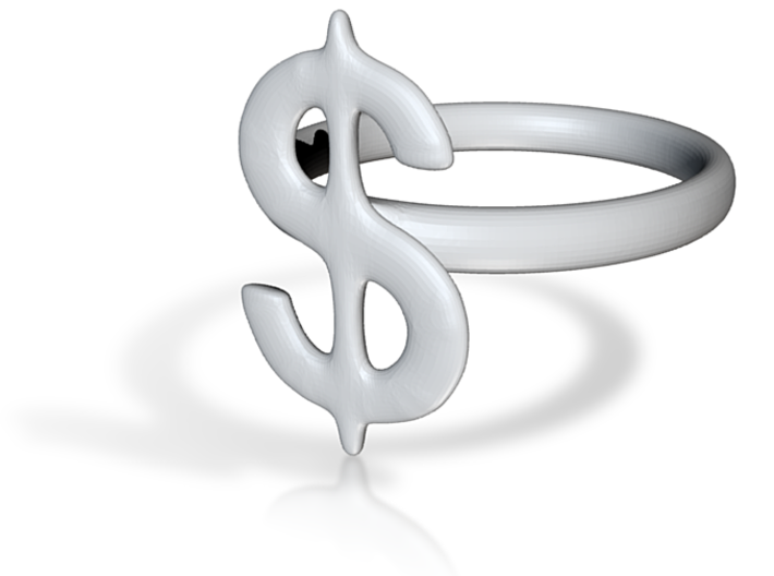 DollarRing 3d printed