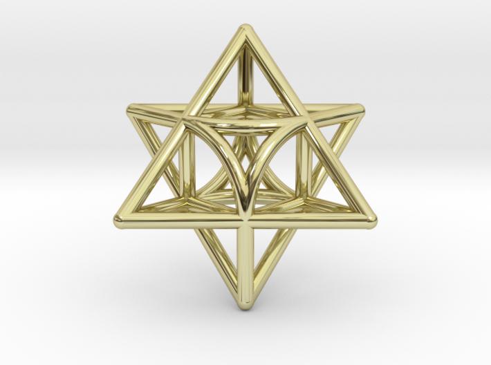 Star Pendant #3 3d printed