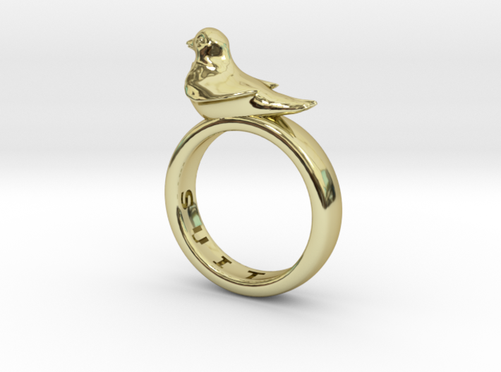 Office Bird Ring (various sizes) 3d printed