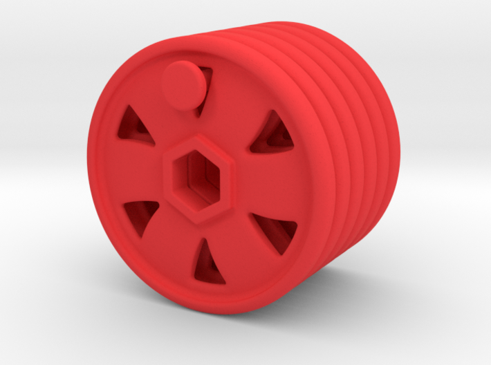 Replacement disc for Fisher Price Imaginext, 6pc 3d printed