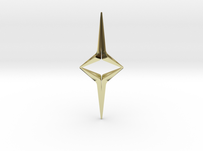 YOUNIVERSAL Sharp Duo, Pendant 3d printed