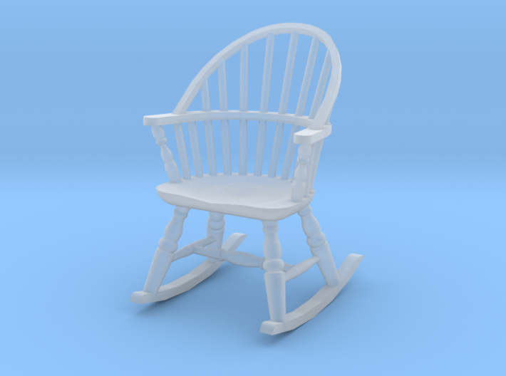 1:48 Windsor Rocking Chair 3d printed