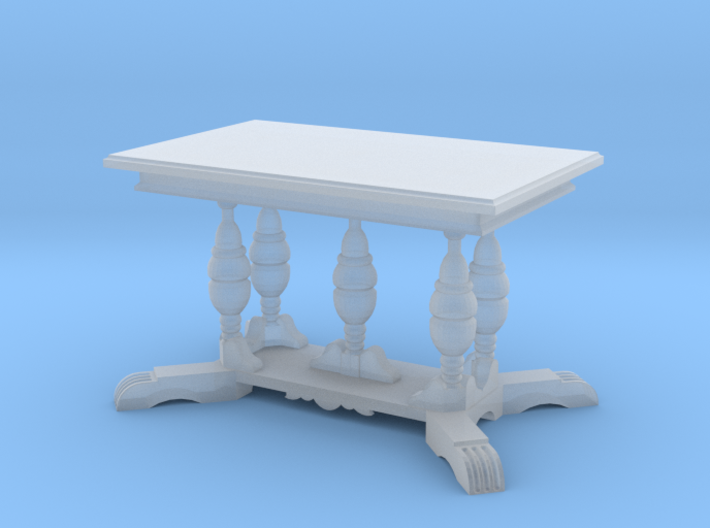 1:48 Old English Work Table 3d printed