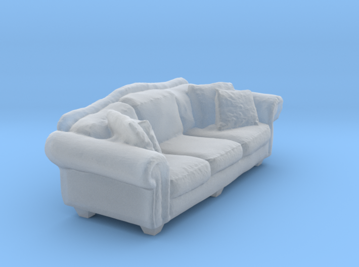 1:48 Overstuffed Sofa 3d printed