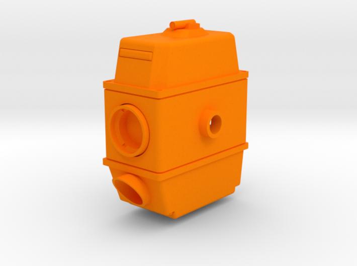 Geodimeter 600 1/4th scale scope 3d printed