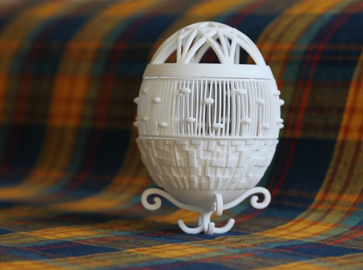 Easter 2015 - Part I 3d printed Assembled Egg