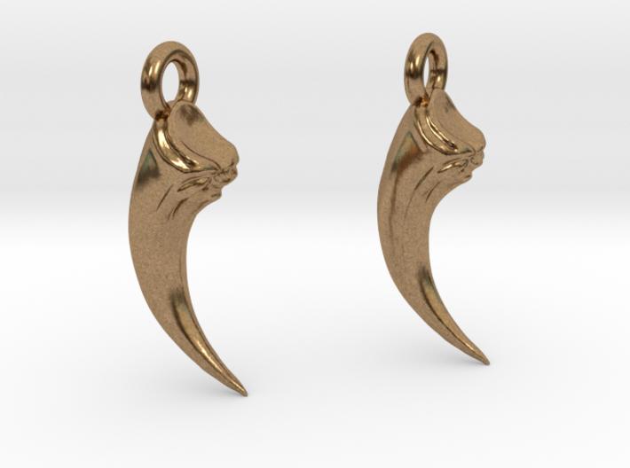 Talon Earings (pair) 3d printed