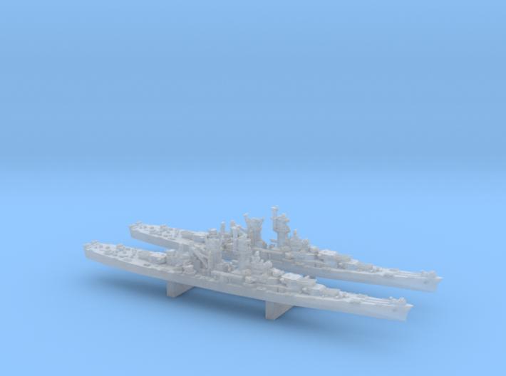 WWII 1/4800 US Alaska class battlecruisers (x2) 3d printed