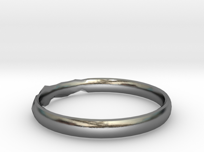 Shadow Ring US Size 8.5 3d printed