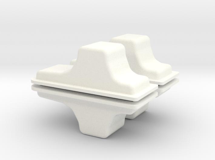CUSTOM OIL PAN x 4 3d printed