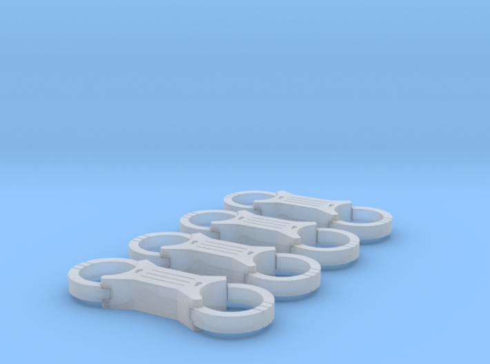 Cuffs 3d printed