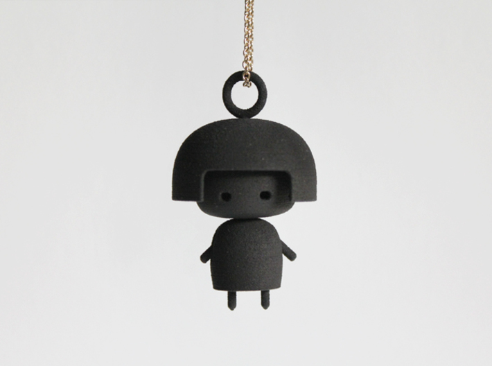 Doll Pendant 3d printed