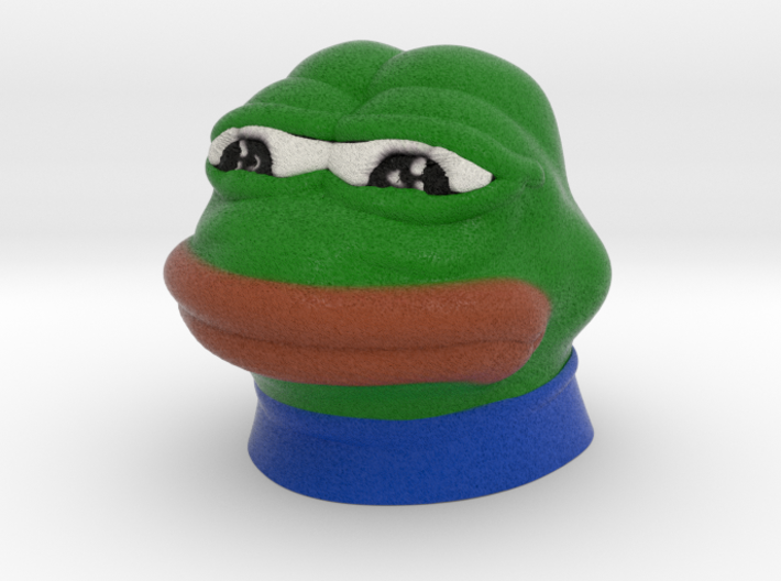 Sad Frog (Feels bad man)  3d printed