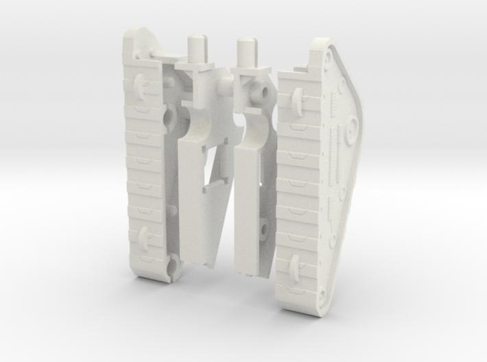 Wrecktifier Tank Treads MINI KIT 3d printed