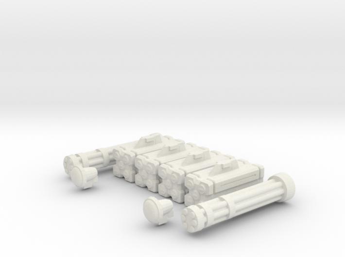 Armament: Defender 3d printed
