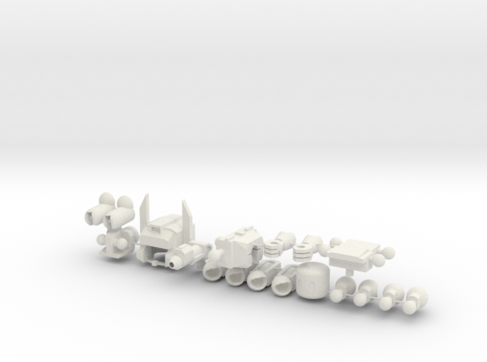 Fort Max Minifig 3d printed
