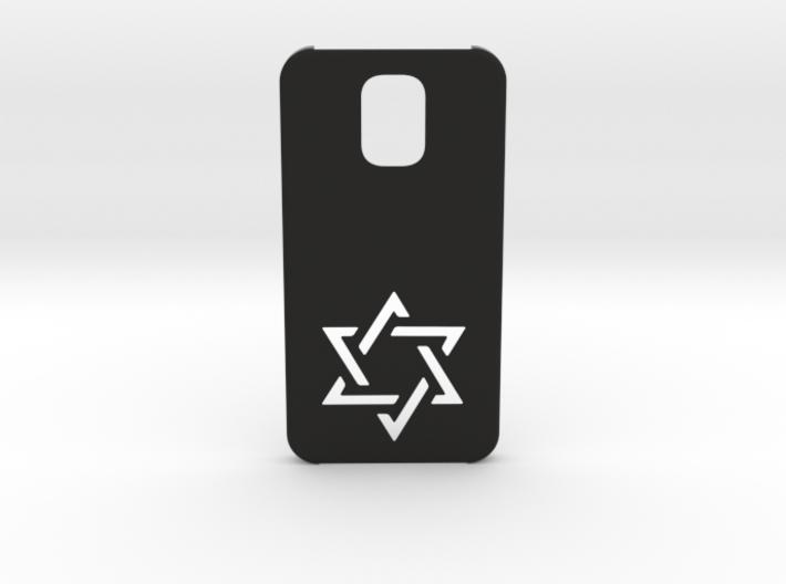 Samsung Galaxy S5 Case: Israëli Star 3d printed
